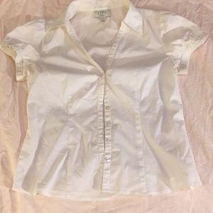 Ann Taylor Loft petite short sleeve blouse.